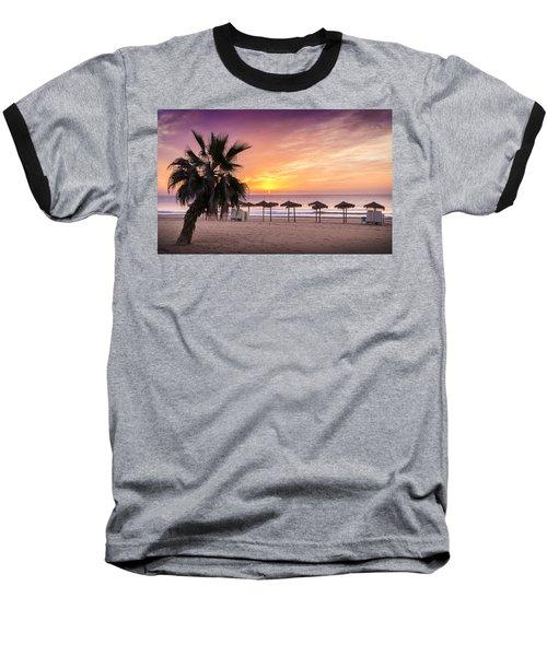 Beach Sunrise. Baseball T-Shirt