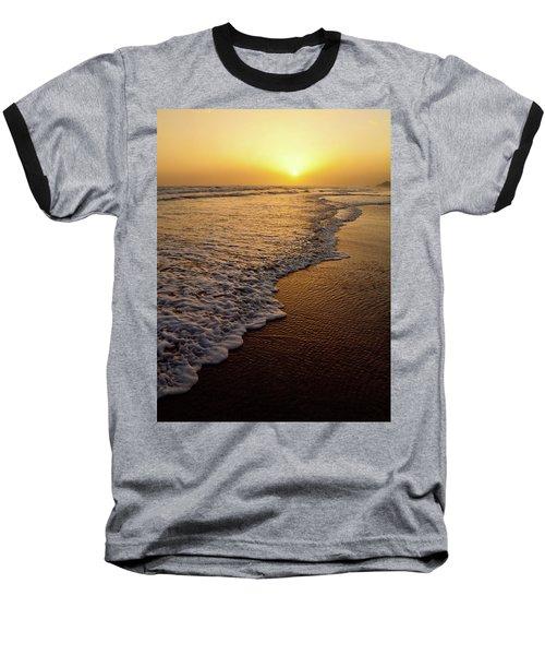 Beach Sunset Baseball T-Shirt