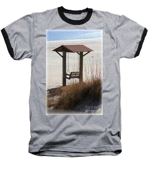 Beach Swing Baseball T-Shirt