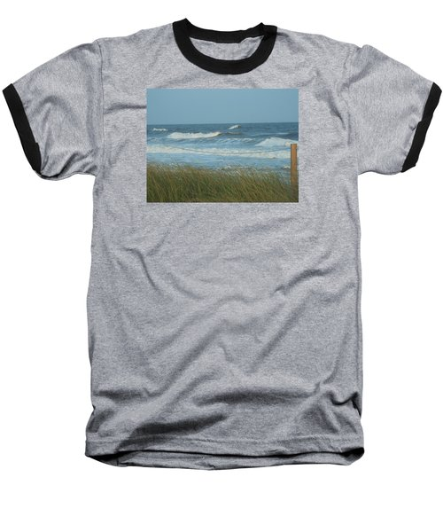 Beach Time Baseball T-Shirt by Jake Hartz