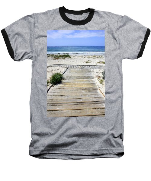Beach Walk Baseball T-Shirt