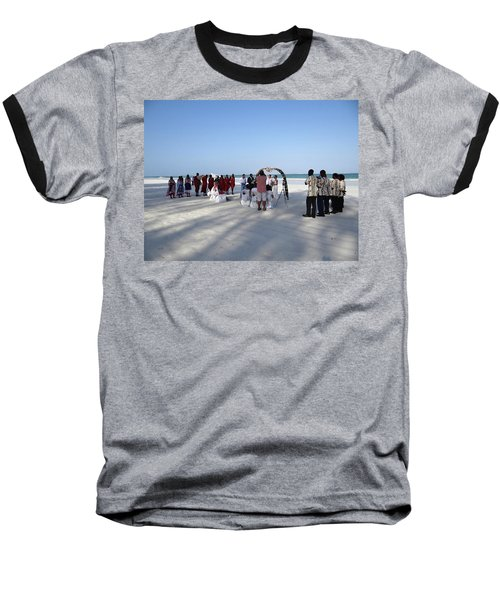 Beach Wedding In Kenya Baseball T-Shirt