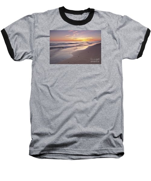 Beach Welcoming Twilight Baseball T-Shirt