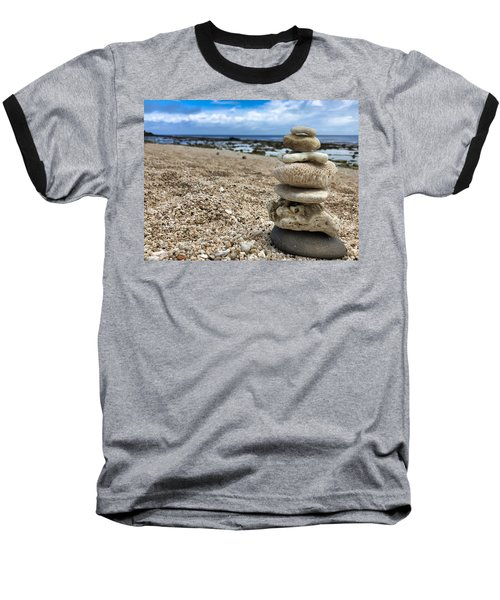 Beach Zen Baseball T-Shirt