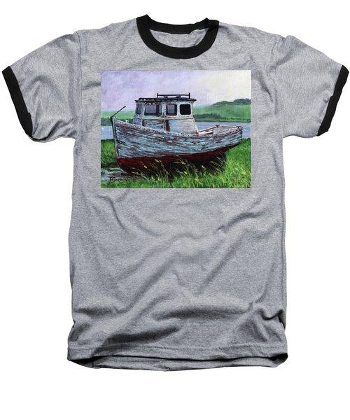 Beached At Bay Of Ayre Baseball T-Shirt
