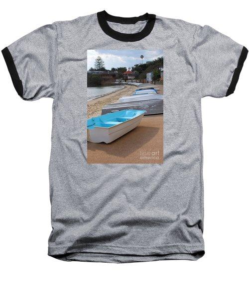 Beached Boats Baseball T-Shirt