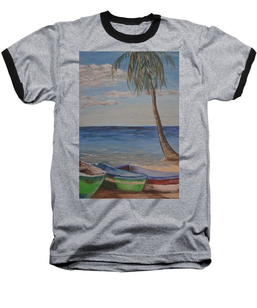 Beached Baseball T-Shirt