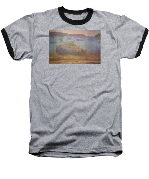 Beached For Cleaning Baseball T-Shirt by Tom Singleton