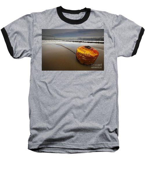 Beached Mooring Buoy Baseball T-Shirt
