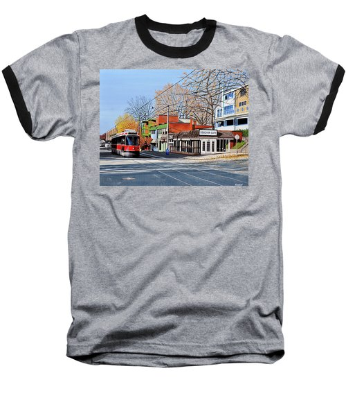 Beacher Cafe Baseball T-Shirt