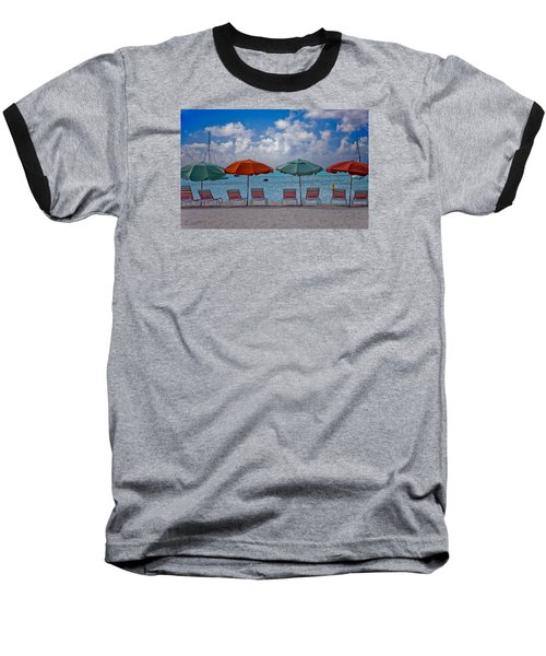 Baseball T-Shirt featuring the photograph Beachie Keen by Matthew Bamberg