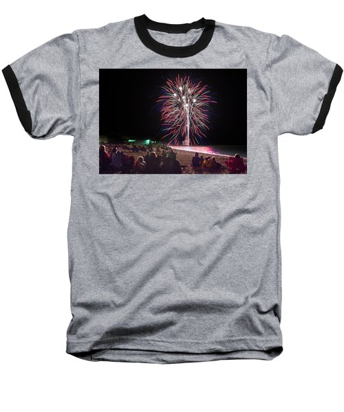 Baseball T-Shirt featuring the photograph Beachside Spectacular by Bill Pevlor