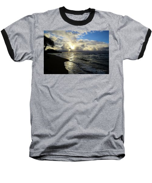 Beachy Morning Baseball T-Shirt