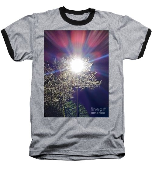 Beacon In The Night Baseball T-Shirt