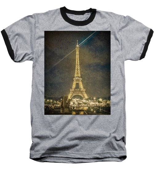 Paris, France - Beacon Baseball T-Shirt