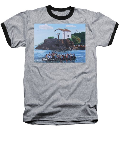 Baseball T-Shirt featuring the painting Beacon Of Hope by Eric Kempson