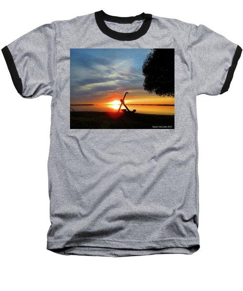Beadles Point Sunset Baseball T-Shirt