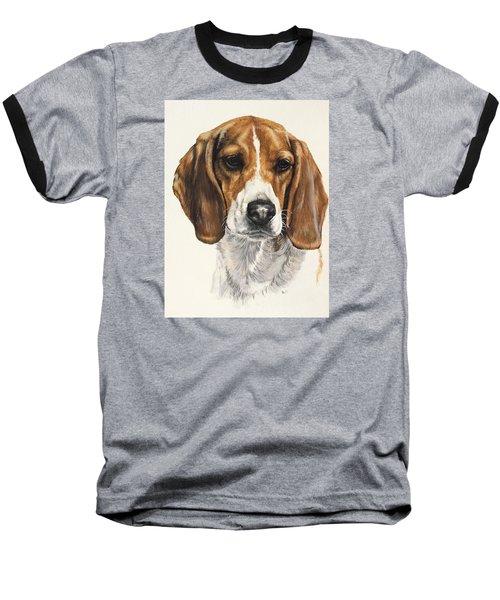 Beagle Baseball T-Shirt by Barbara Keith