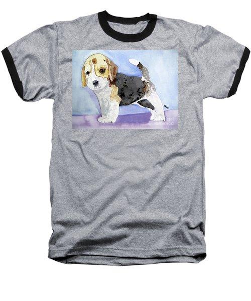 Beagle Pup Baseball T-Shirt