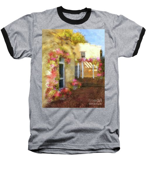 Baseball T-Shirt featuring the digital art Beallair In Bloom by Lois Bryan