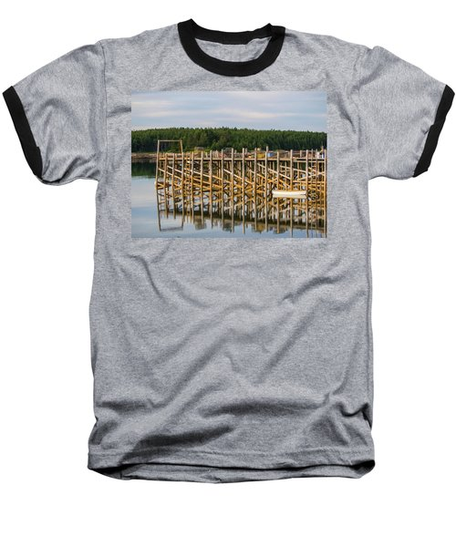 Beals Island, Maine  Baseball T-Shirt by Trace Kittrell