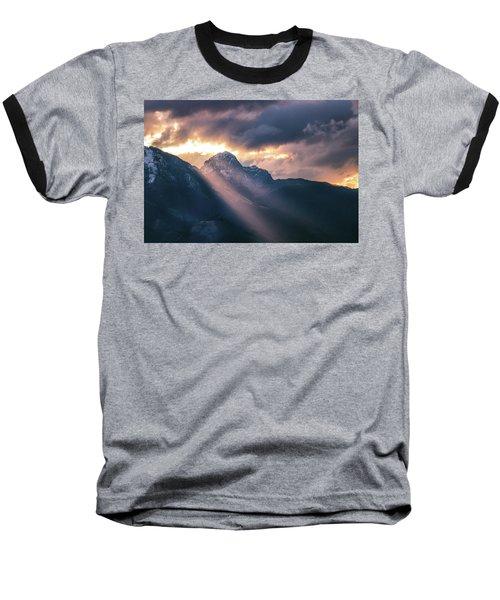 Beams Of Fire Baseball T-Shirt