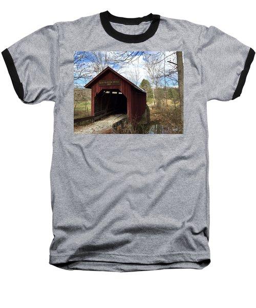 Bean Blossom Bridge, 1880 Baseball T-Shirt