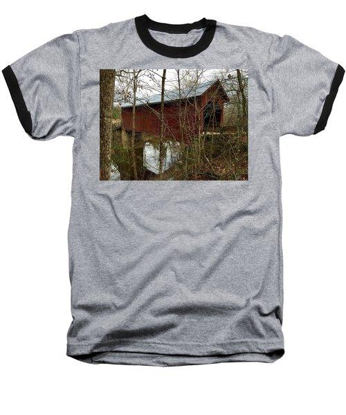 Bean Blossom Bridge Baseball T-Shirt