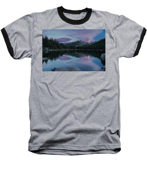 Bear Lake Sunset Baseball T-Shirt