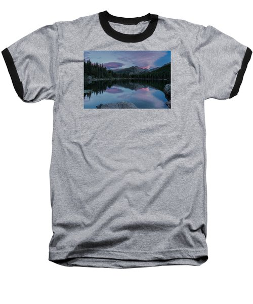 Bear Lake Sunset Baseball T-Shirt
