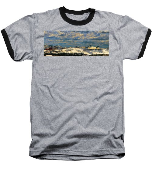 Bear Tooth Mountain Range Baseball T-Shirt