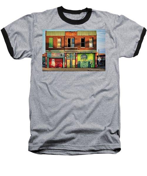 Beardy Mcgreen Baseball T-Shirt