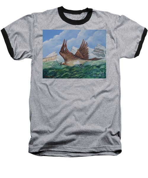 Beared Gypaete Baseball T-Shirt