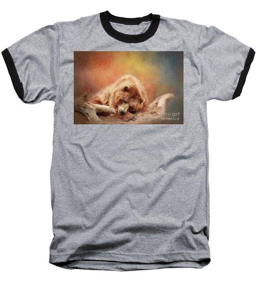 Bearly Asleep Baseball T-Shirt