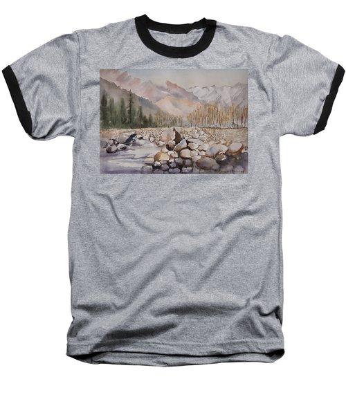 Beas River Manali Baseball T-Shirt