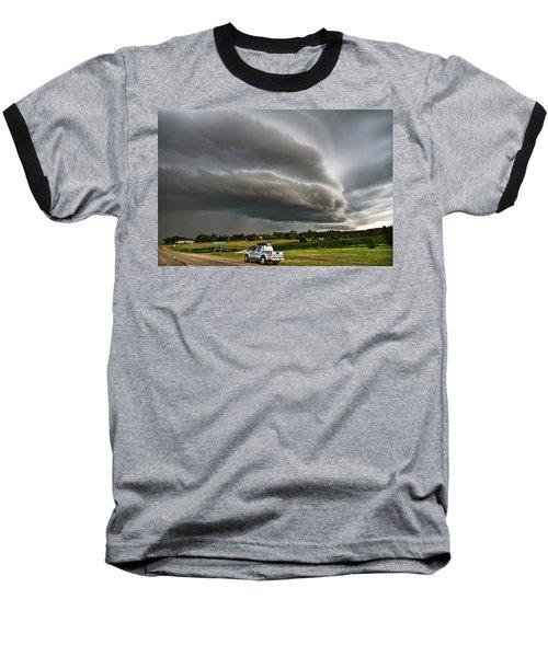 Beast Over Yorkton Baseball T-Shirt