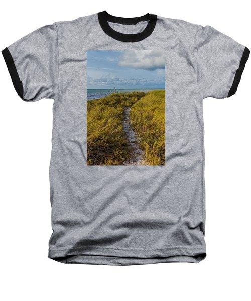 Beaten Path Baseball T-Shirt by Swank Photography