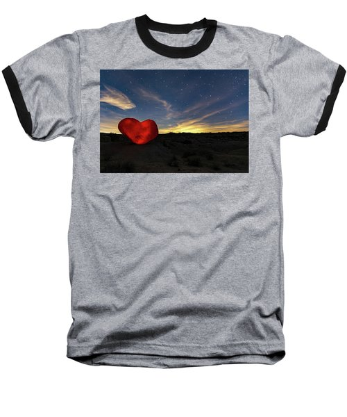 Beating Heart Baseball T-Shirt