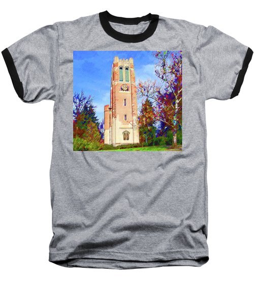 Beaumont Tower Baseball T-Shirt