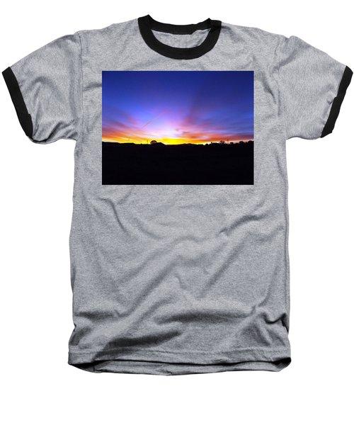 Beautifil Blue Baseball T-Shirt