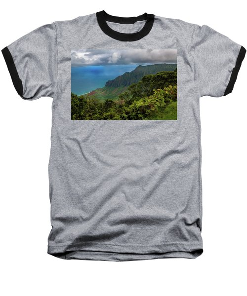 Beautiful And Illusive Kalalau Valley Baseball T-Shirt