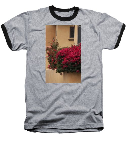 Beautiful Balcony With Bougainvillea Baseball T-Shirt by Ivete Basso Photography