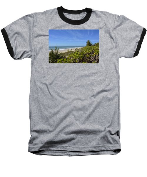 Beautiful Beachy Afternoon Baseball T-Shirt by Carol Bradley