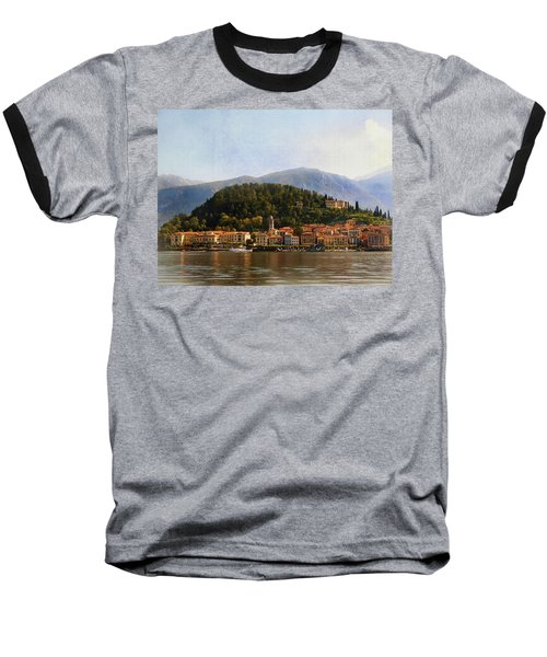 Beautiful Bellagio Baseball T-Shirt by Jacqi Elmslie