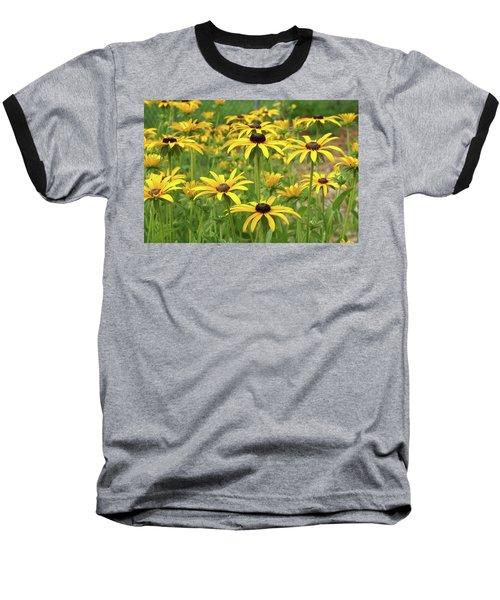 Beautiful Black Eyes Baseball T-Shirt