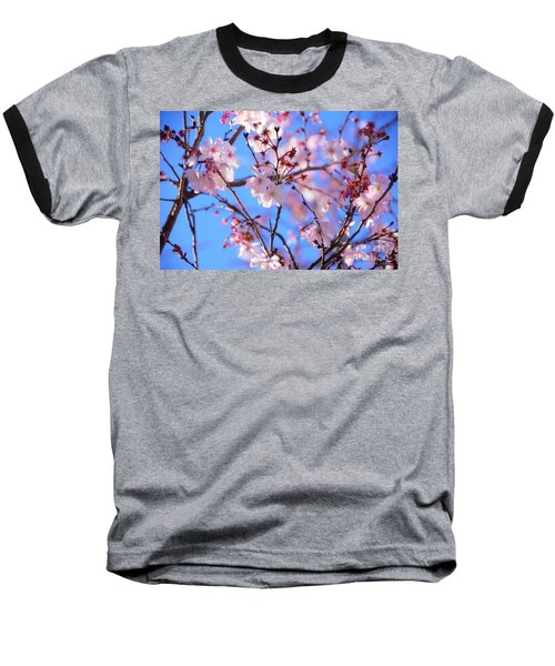 Beautiful Blossoms Blooming  For Spring In Georgia Baseball T-Shirt