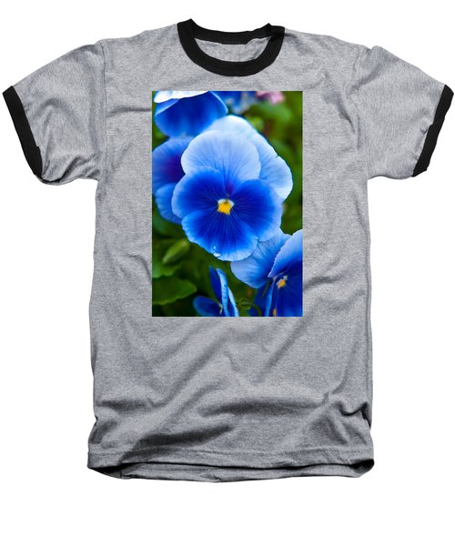 Beautiful Blues Baseball T-Shirt