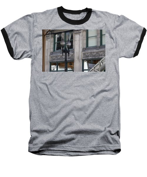 Beautiful Chicago Gothic Grunge Baseball T-Shirt