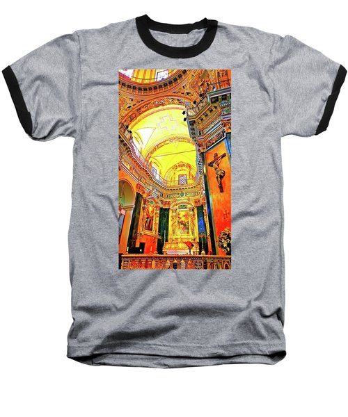 Beautiful Church In Nizza Baseball T-Shirt