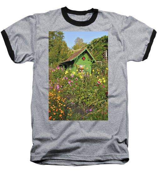 Beautiful Colorful Flower Garden Baseball T-Shirt